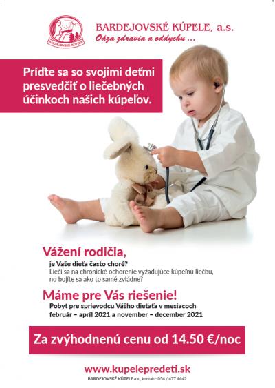 Zvýhodnená cena pre sprievodcu Vášho dieťaťa pre rok 2021