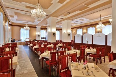 Hotel Astória jedáleň
