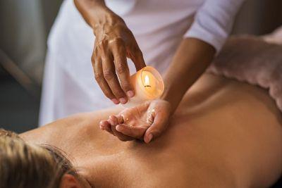 Masáž BIO telovými sviečkami